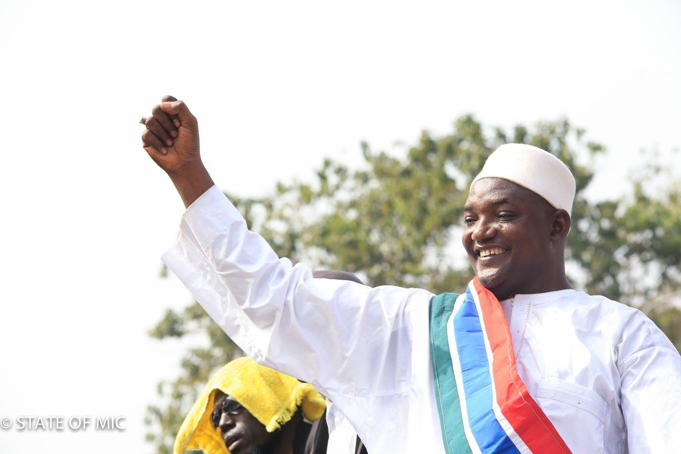 The Gambia's current President, Adama Barrow