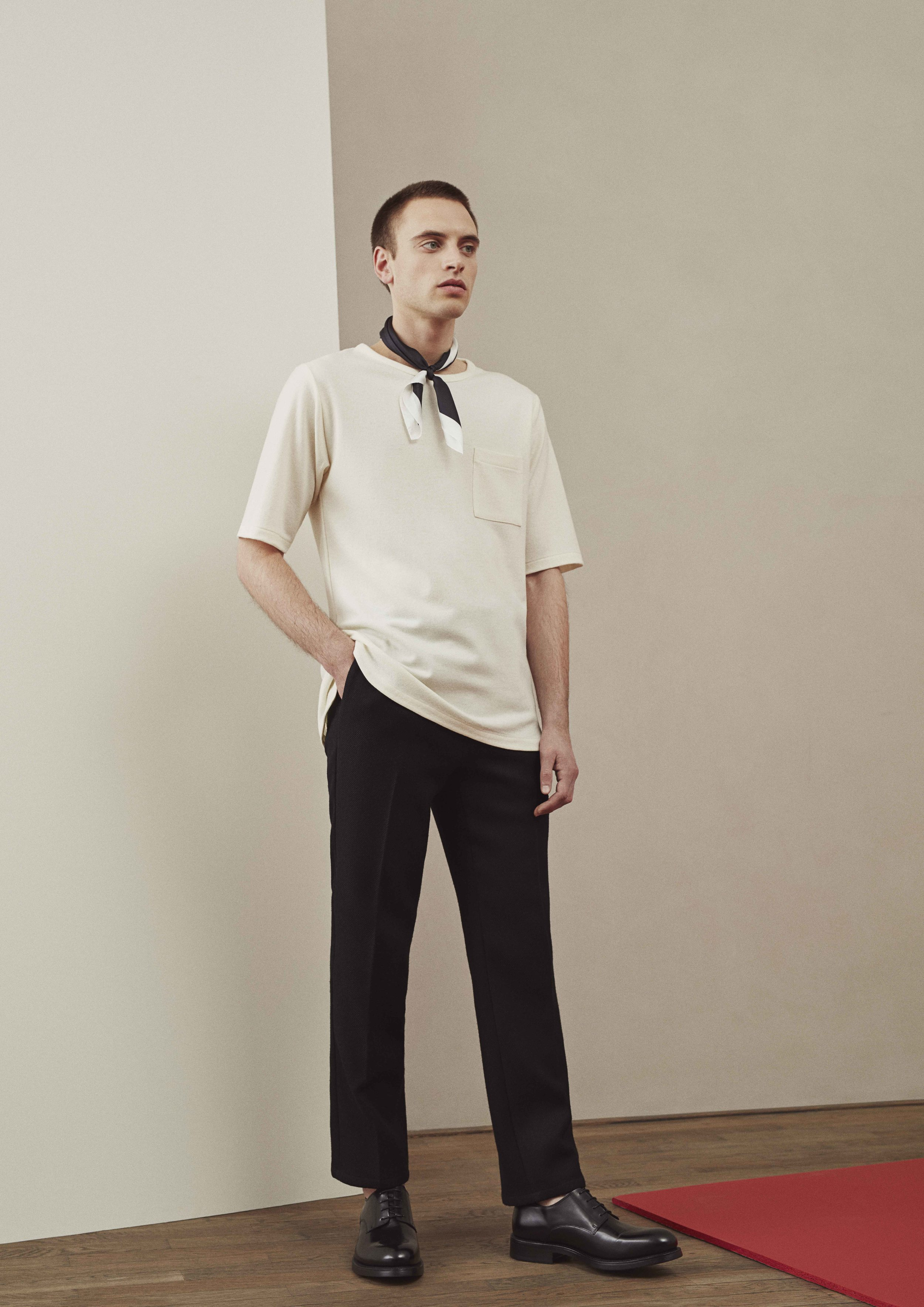 <b>6</b><br>Louis Wool Jersey Top<br>Felix Highland Wool Pants