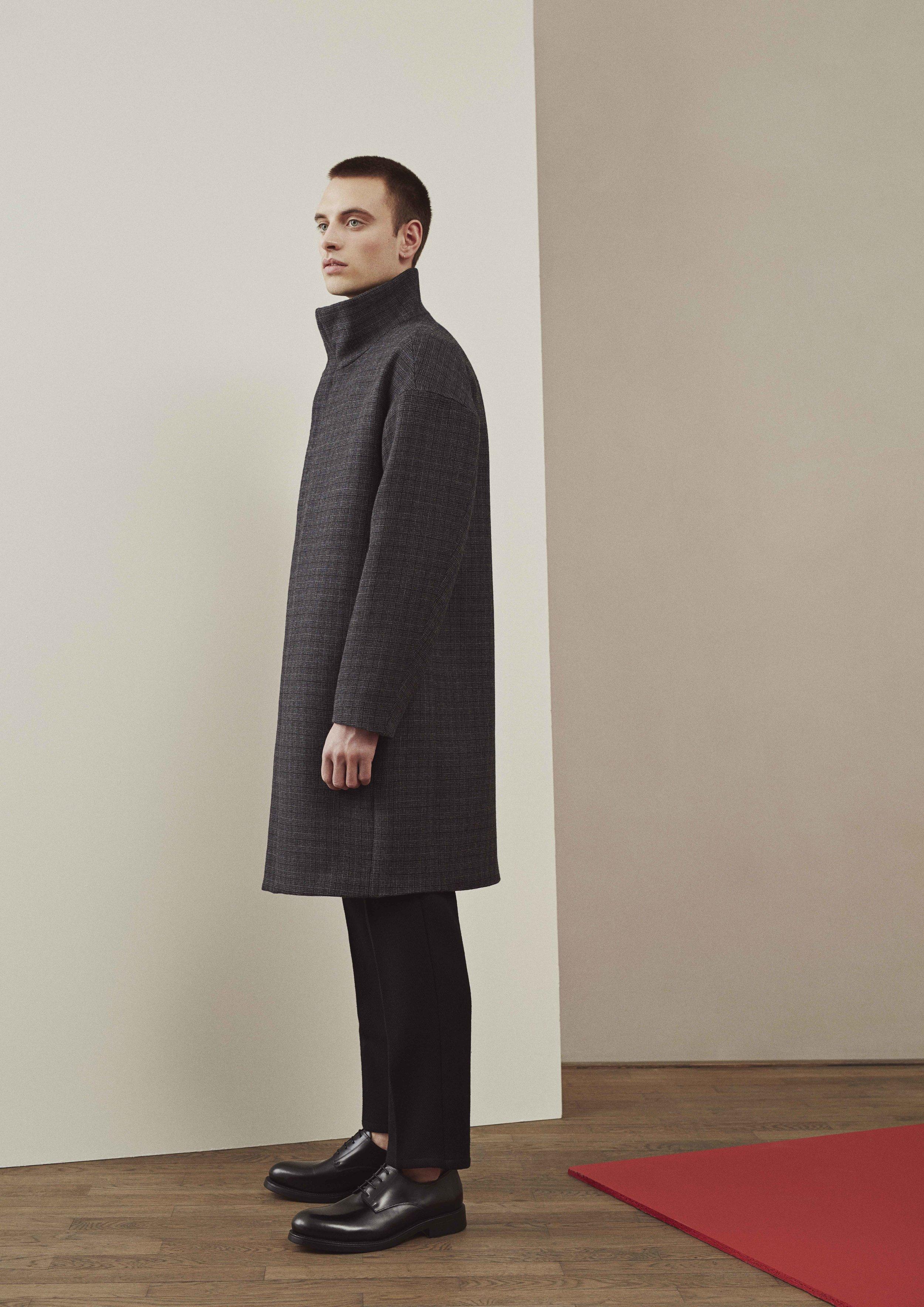<b>12</b><br>Charlie Wool Coat<br>Felix Highland Wool Pants