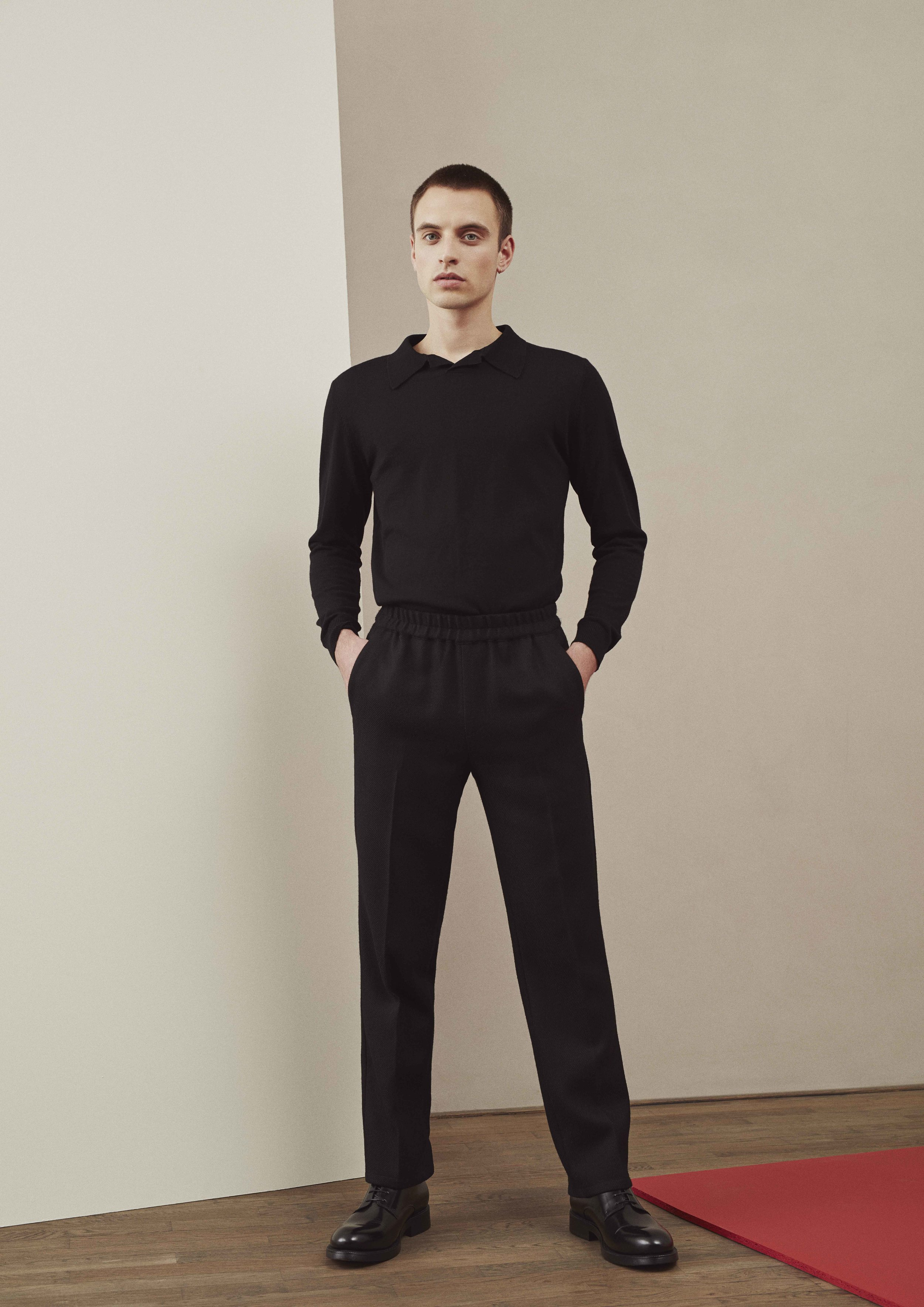<b>3</b><br>Amos Wool Sweater<br>Felix Highland Wool Pants