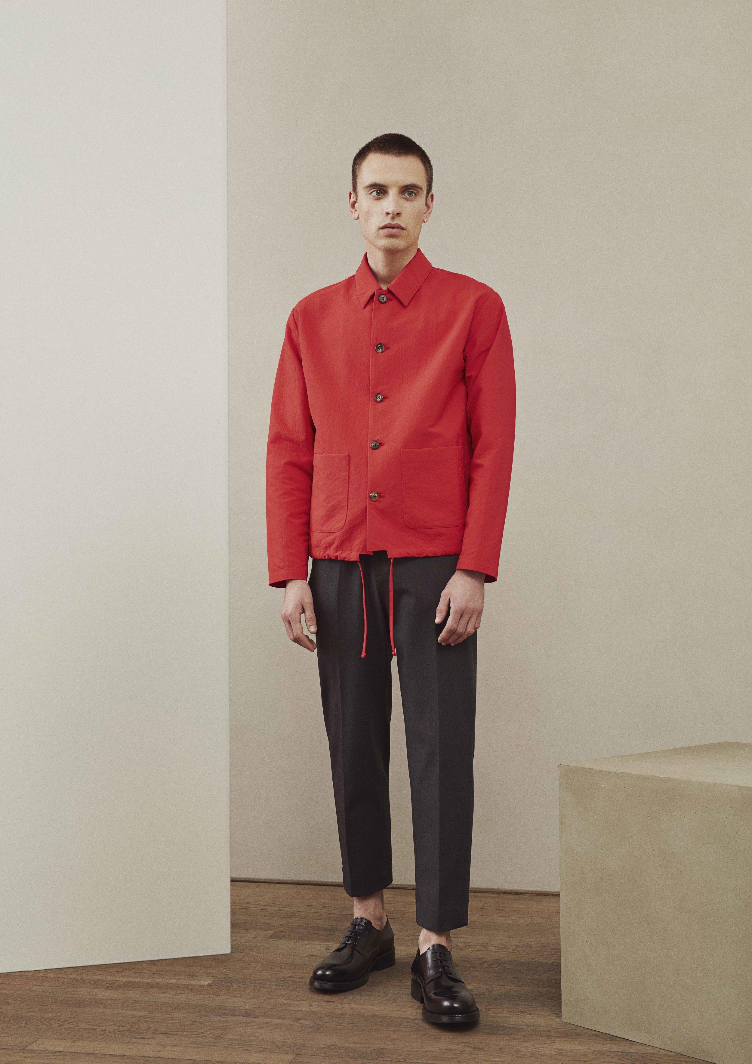<b>11</b><br>Sander Nylon Jacket<br>Albert Cotton Pants