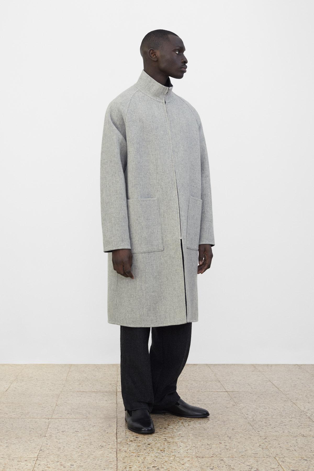 <b>7</b><br>Rupert Reversible Coat<br>Hakon Checked Wool Pants