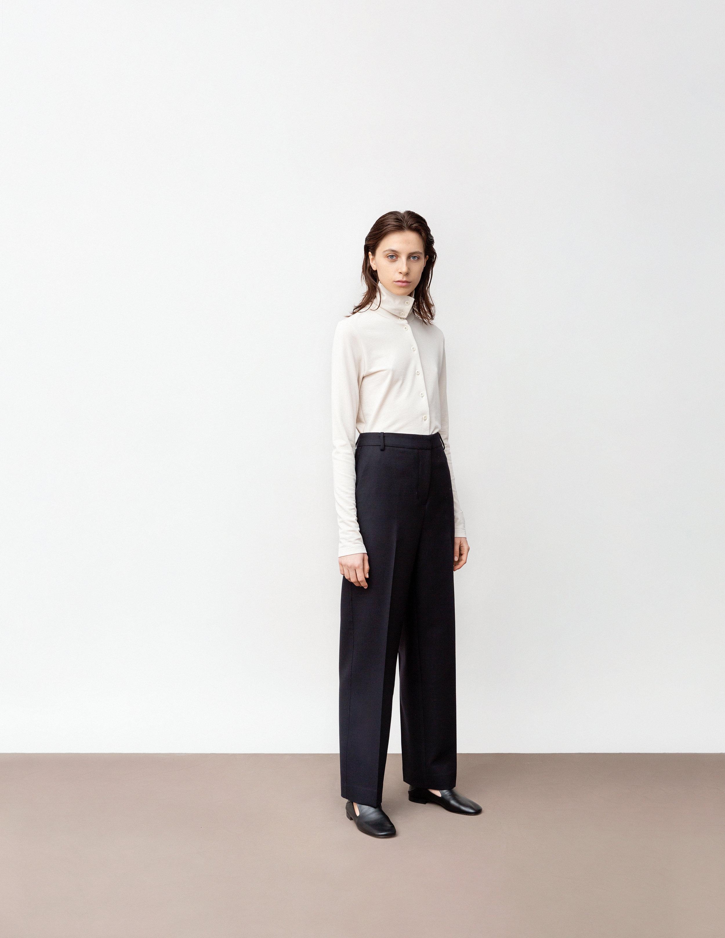 <b>2</b><br>Yvonne dry jersey top<br>Scarlett compact wool pants