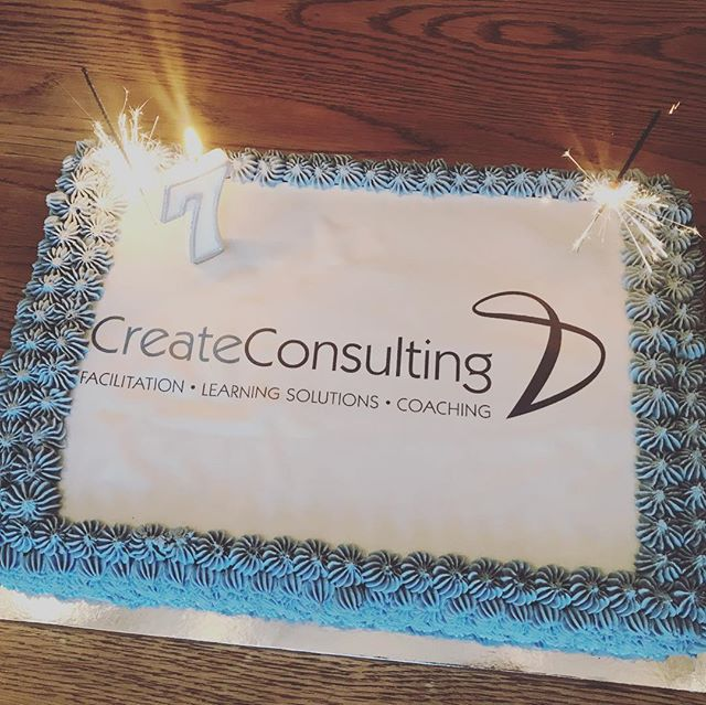 Celebrating our 7th Birthday as CreateConsulting today. 🎉 True Teamwork. So privileged to have awesome clients, partners, associates, colleagues and friends we call family. 💫 . . . #happybirthday #7years #createconsulting #ourday #candles #sparkles #bubbles #cake #celebrate #success #goals #teamwork #partnership #love #friends #family #clients #changemakers #changinglives #leadership #developingothers #us #together #fun
