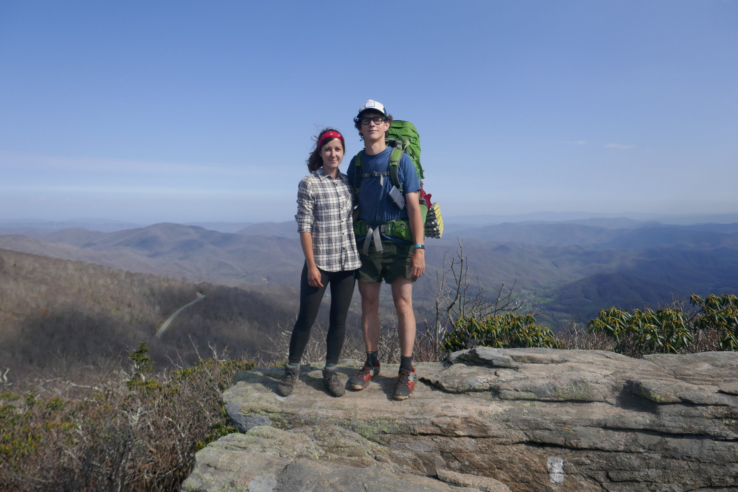 Appalachian Trail Blog 4 - Hot Springs to Roan Mountain -
