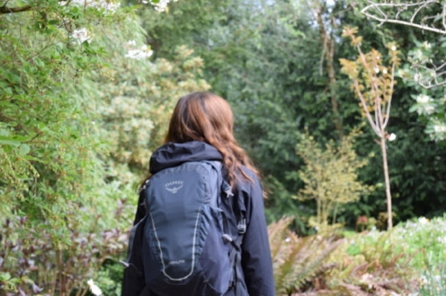 Packing for a day hike -