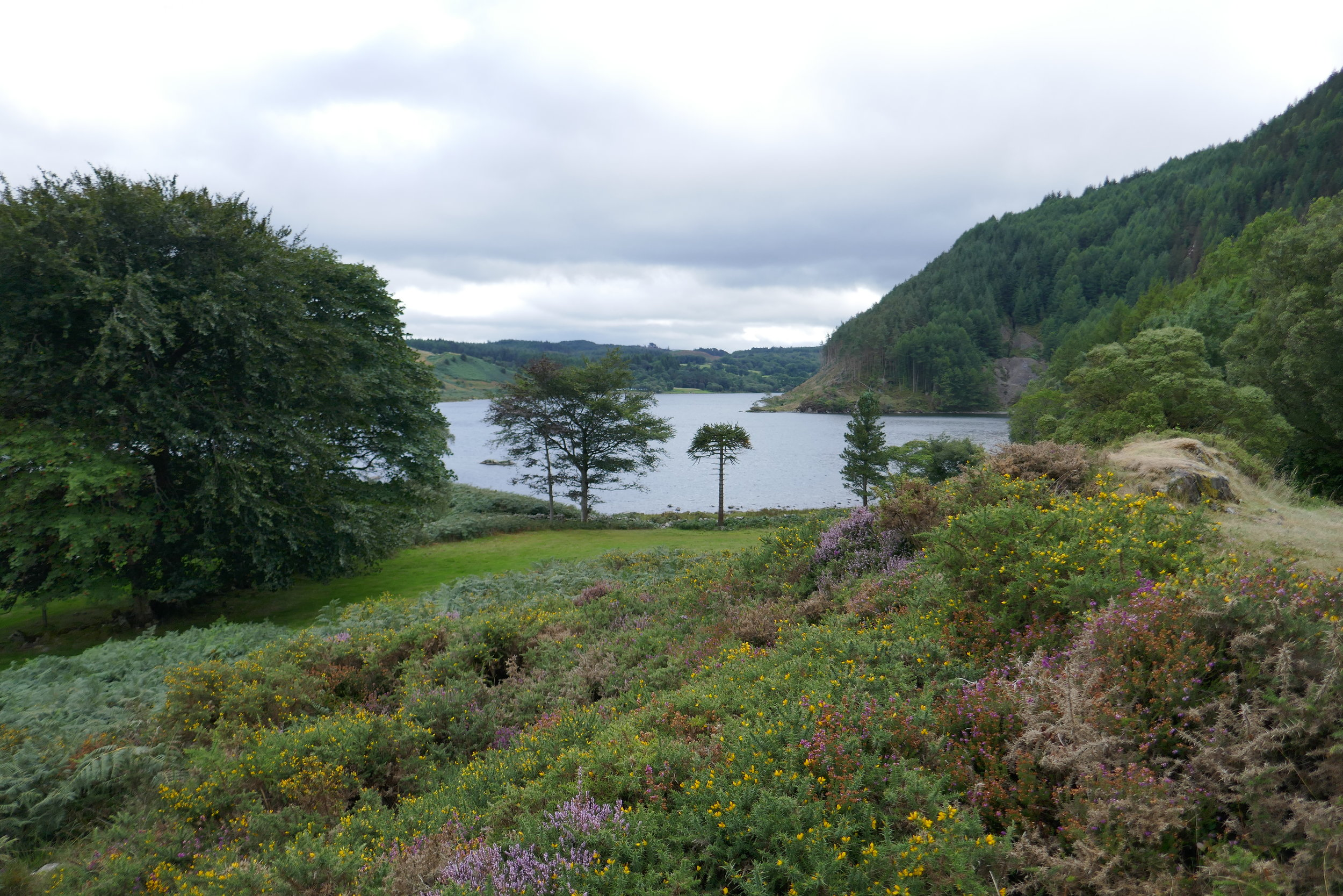 Mountain lakes and disused mines -