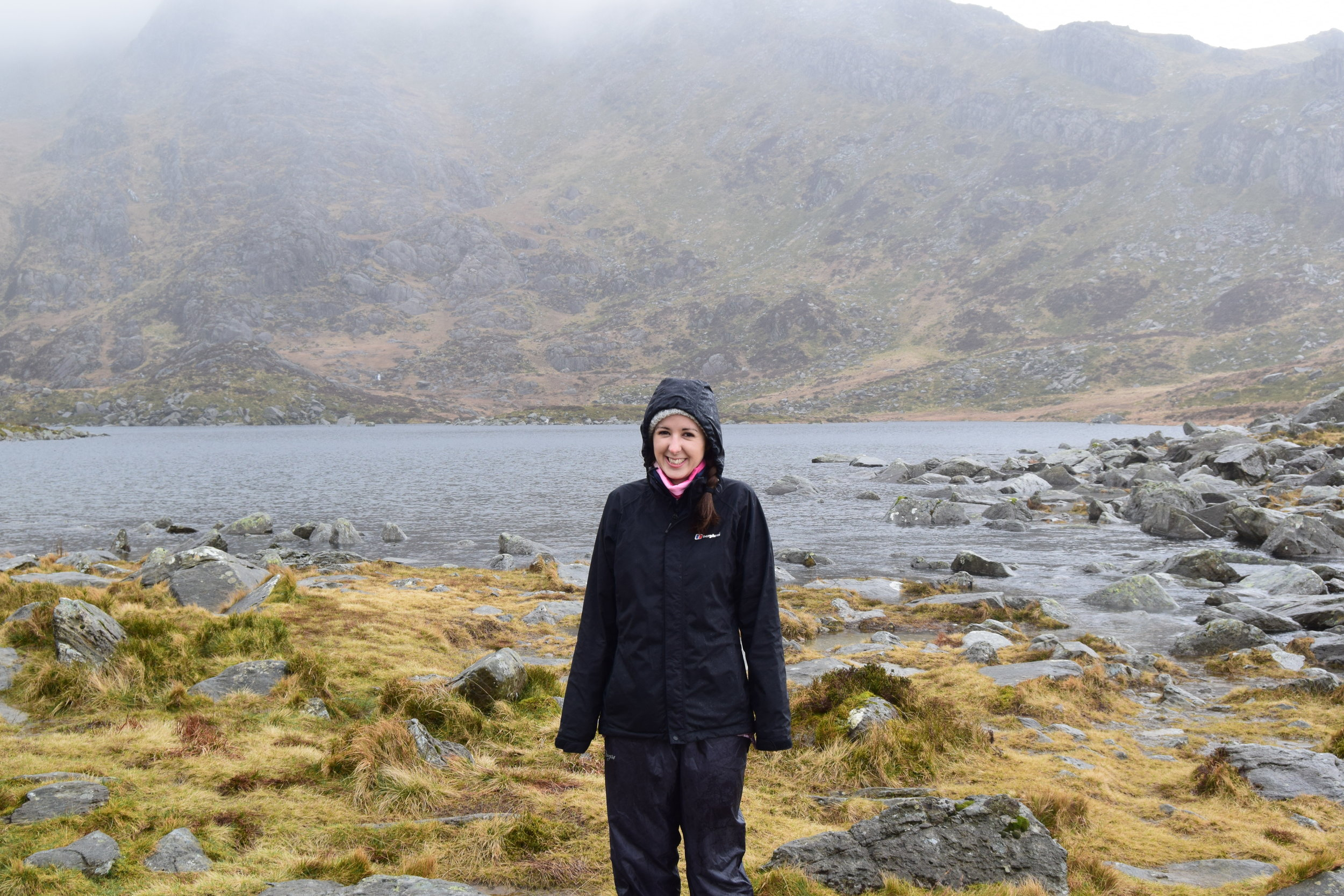 Just after this was taken, I slipped and fell in the lake!