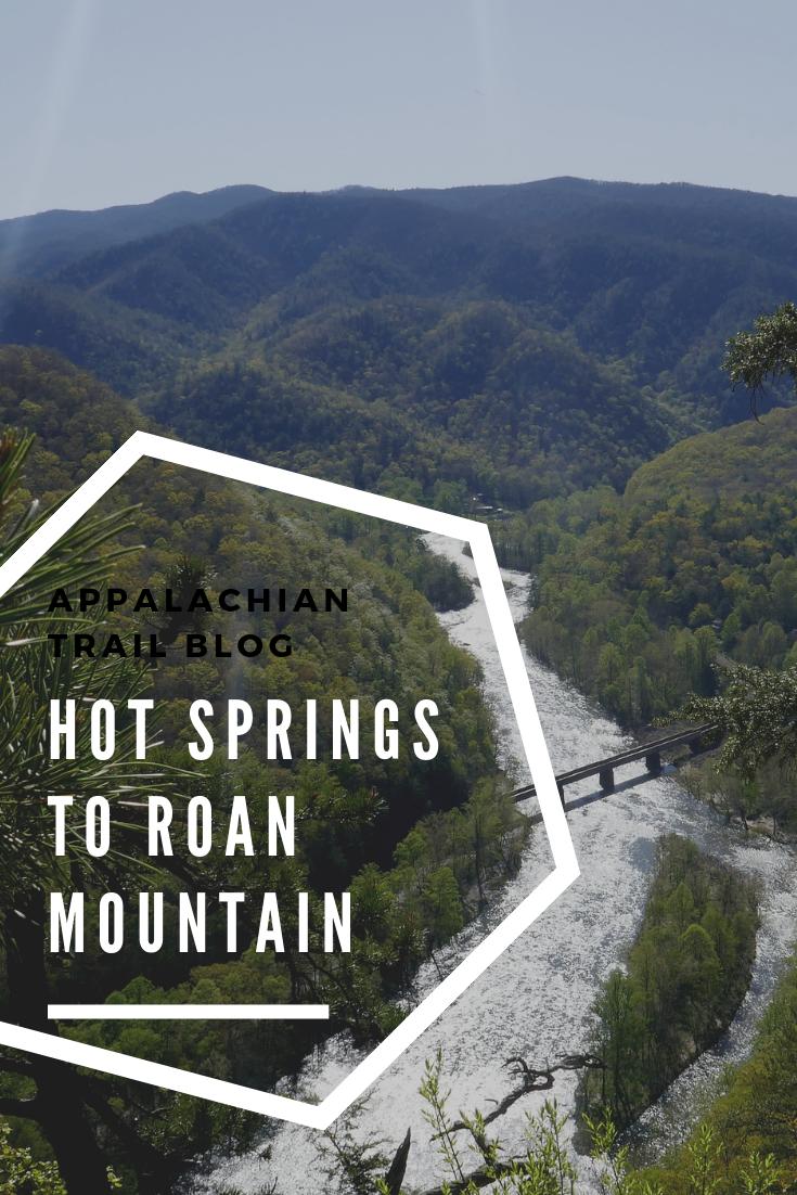 Appalachian Trail - Hot Springs to Roan Mountain