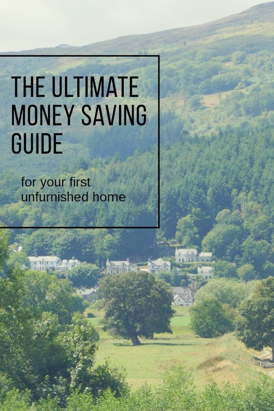 Money saving tips for your first unfurnished home