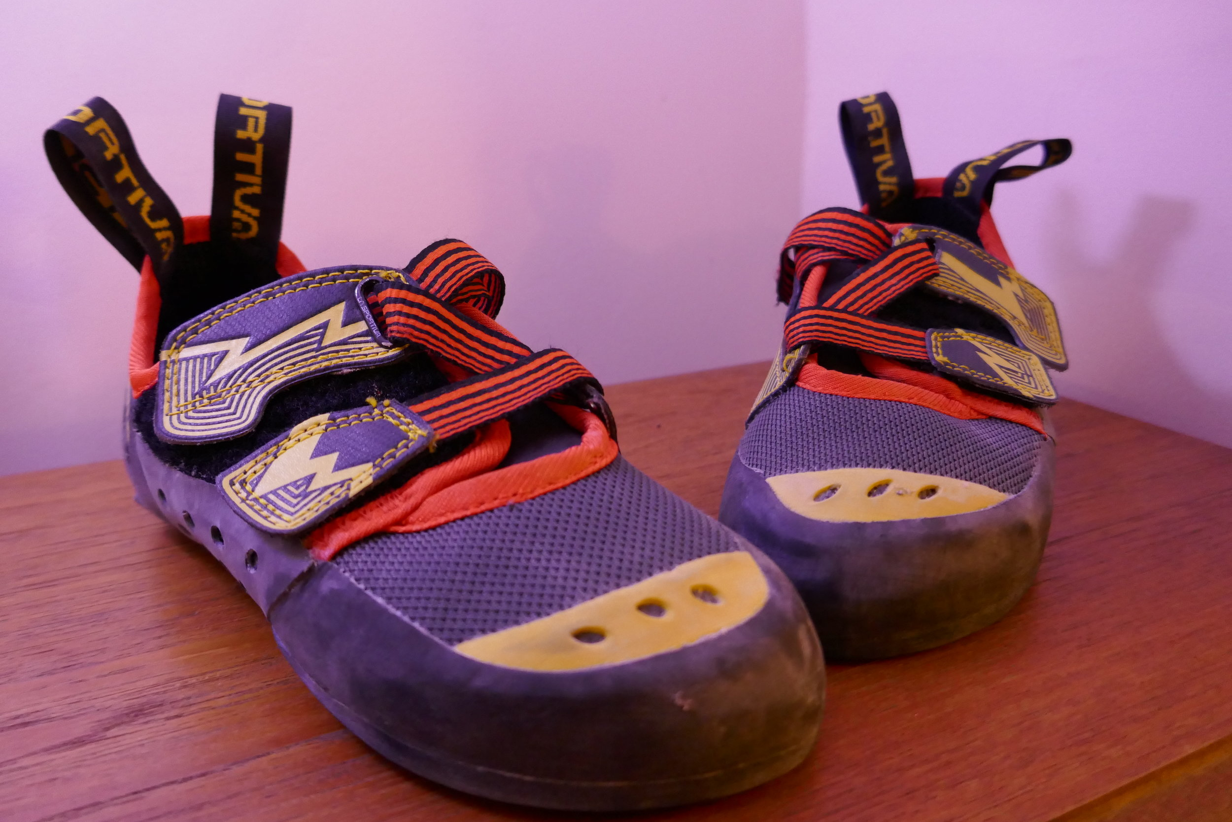 Gear Review   La Sportiva Oxygym climbing shoes
