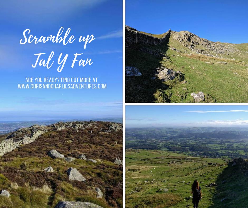 Tal Y Fan circular hike, North Wales.