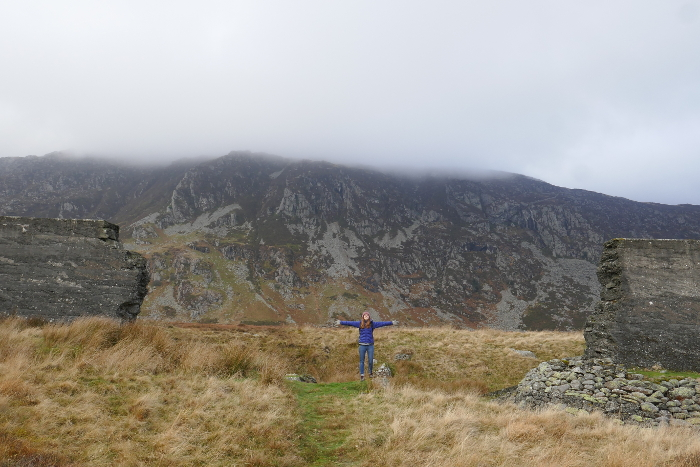 A circular hike around the site of the Dolgarrog Dam disaster in Snowdonia, Wales.