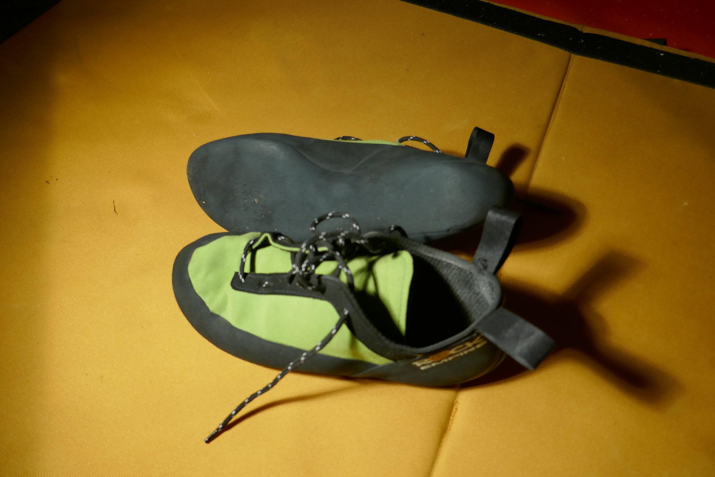 Gear Review   Rock Empire Shogun climbing shoes