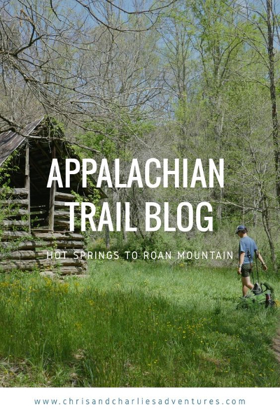 Appalachian Trail blog - Hot Springs to Roan Mountain town