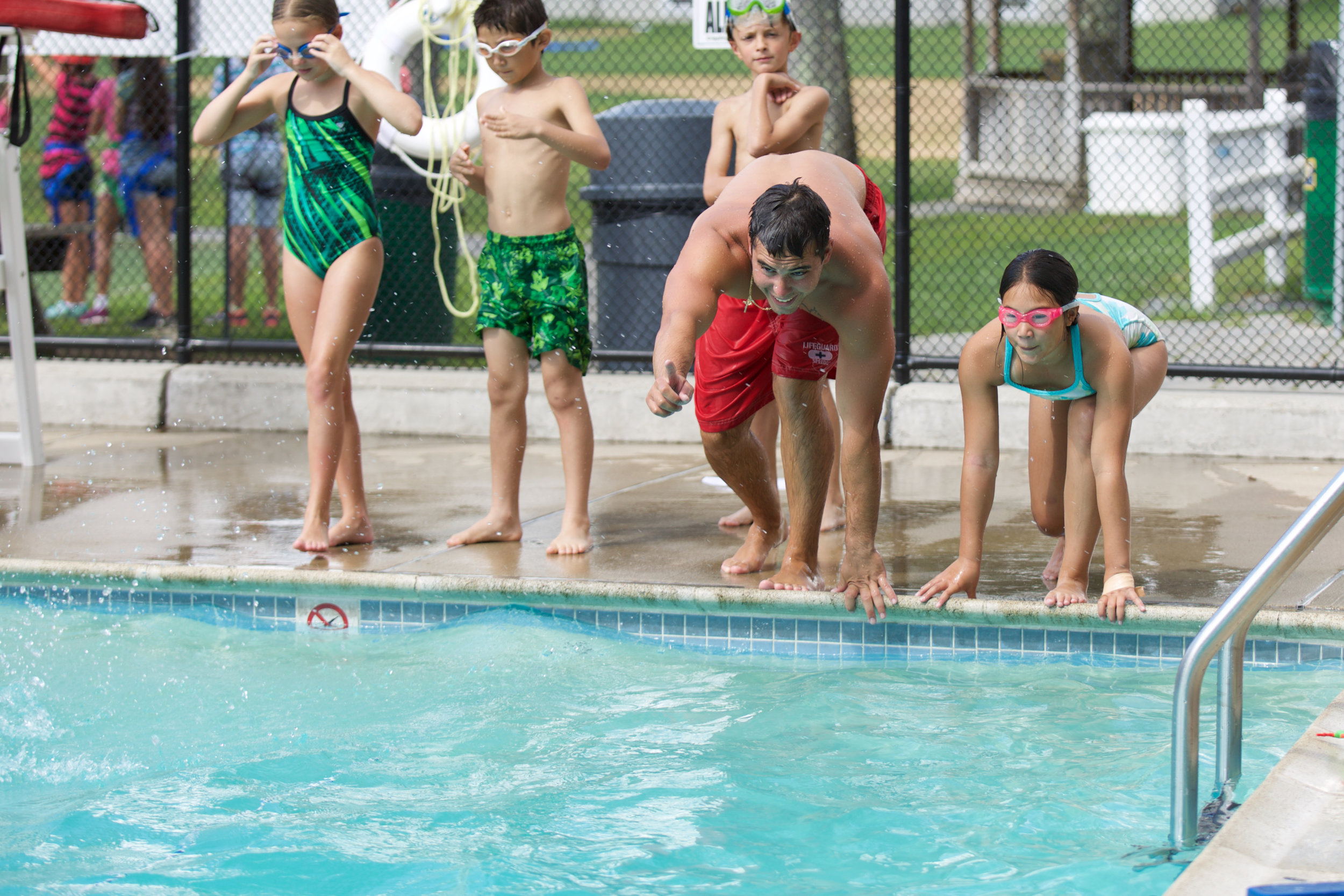 red cross certification - Lifeguard and WSI