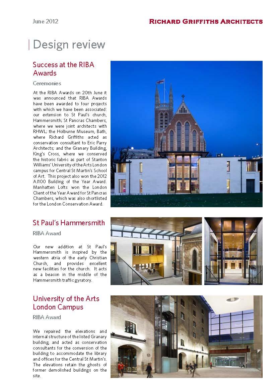 Design Review, June 2012