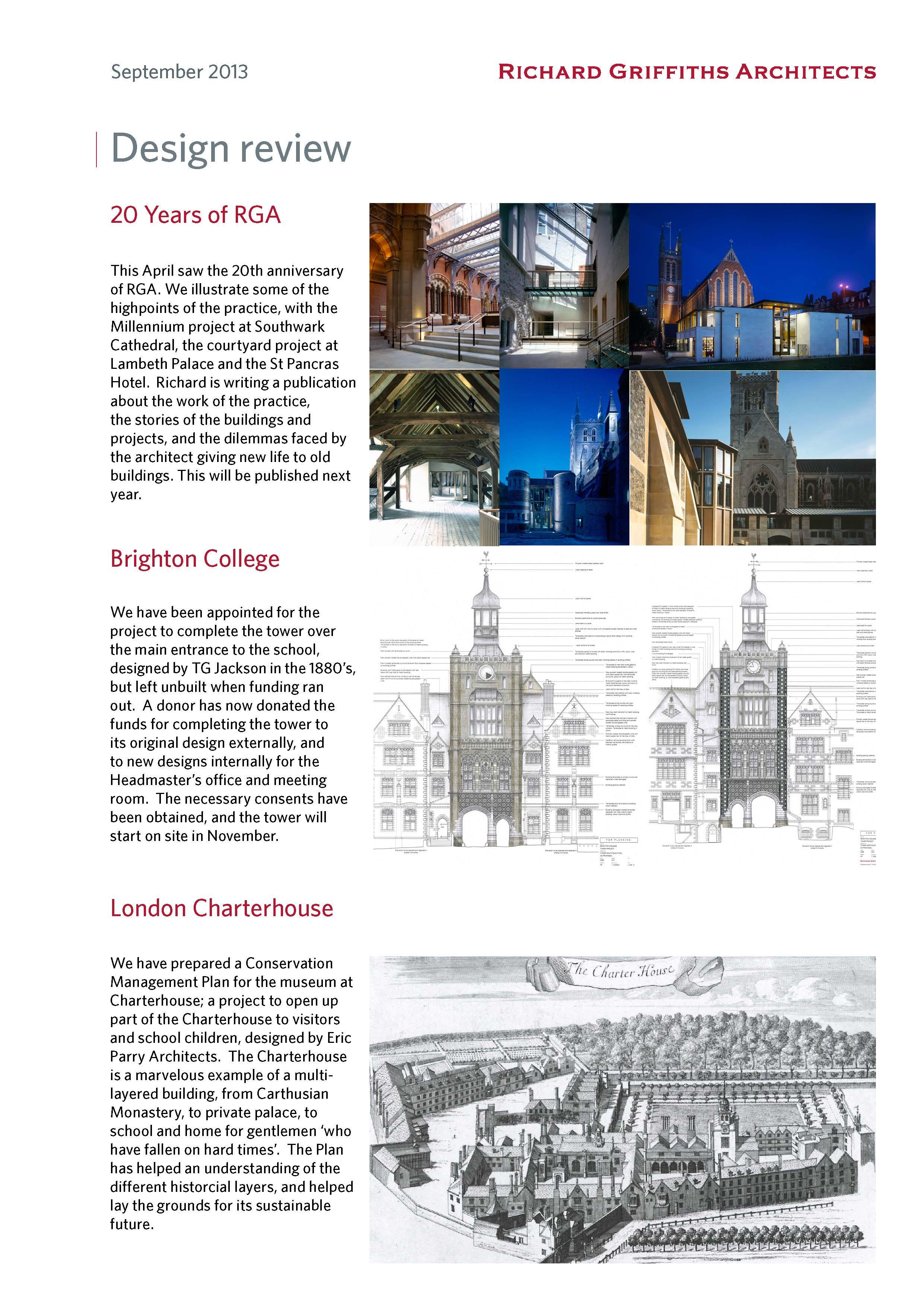 Design Review, September 2013