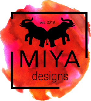 Our fantastic partners at Miya Designs work with us to help create your unique logo designs and any needs you may have for branding. (Just look at their logo!)