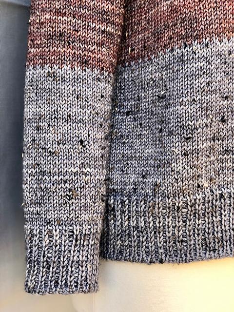 Lucine, sleeve detail