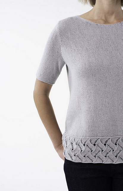 Cerith, sleeve & hem detail
