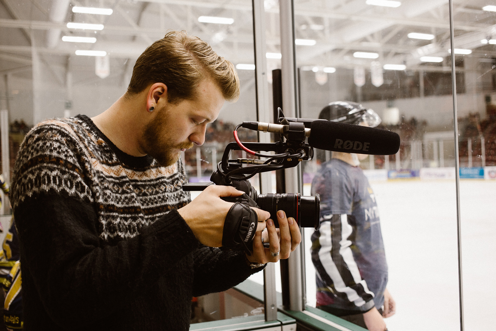Tyler Appel  Tyler Appel | cinematographer  Tyler has had the pleasure to film on several shoots, particularly when he and Brooke traveled to Wales for the special exhibition that the Cardiff Devils had in Scott's honor.