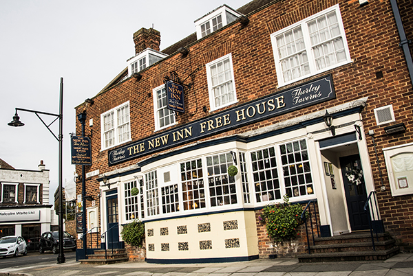 The New Inn - A wonderful pub offering bed & breakfast in the beautiful village of Sandwich. Food served all day.2 Harnet Street, Sandwich, CT13 9ESTel: 01304 612 335new.inn@thorleytaverns.co.ukwww.newinn-sandwich.co.ukFood Served | Cask Ales | Live Music | Parking | Rooms