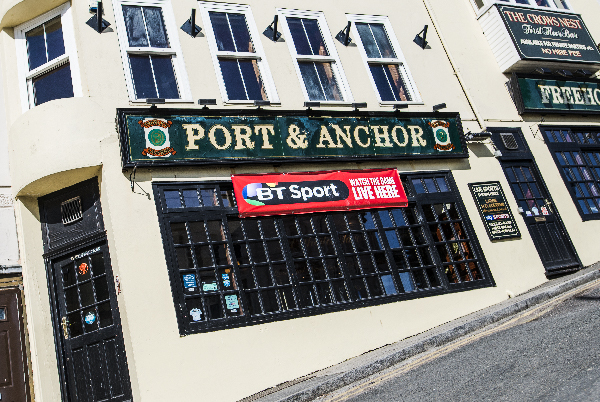 The Port & Anchor - A fantastic pub overlooking Ramsgate Harbour with a party atmosphere.2-4 Albion Hill, Ramsgate CT11 8HGTel: 01843 850 493portandanchor@thorleytaverns.co.ukCask Ales | Live Sport | Lie Music | Live DJs