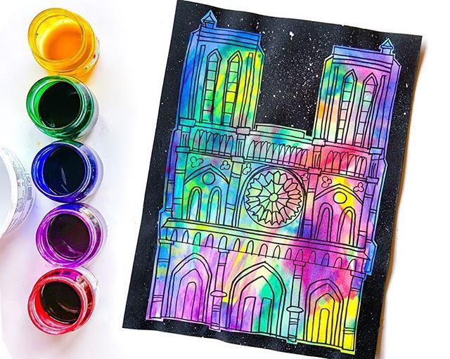 Repost from @deepspacesparkle . In light of the recent tragedy, we wanted to make the Notre Dame at Night lesson from the Sparkler's Club available to everyone. We hope that this project will aid you in teaching your students about the Notre Dame Cathedral through art. We are saddened by the loss of such a historical monument but are hopeful for the future. 🎨 Click the link in bio to access the full lesson plan and resources. . . . . . #artprojects #artinspiration #teachersofinsta #teacherblogger #kidscreate #artlesson #artteachers #kidsartclass #teachershare #homeschoolart #paintwithkids #deepspacesparkle #creativelifehappylife #teacherlife🍎 #teahersupportteachers #elementaryartteacher #newteacher #proudtobeateacher #artteachers #artlessonsforkids #prepteacher #kidsloveart #primaryart #arteducator #artlessonsforkids #notredame