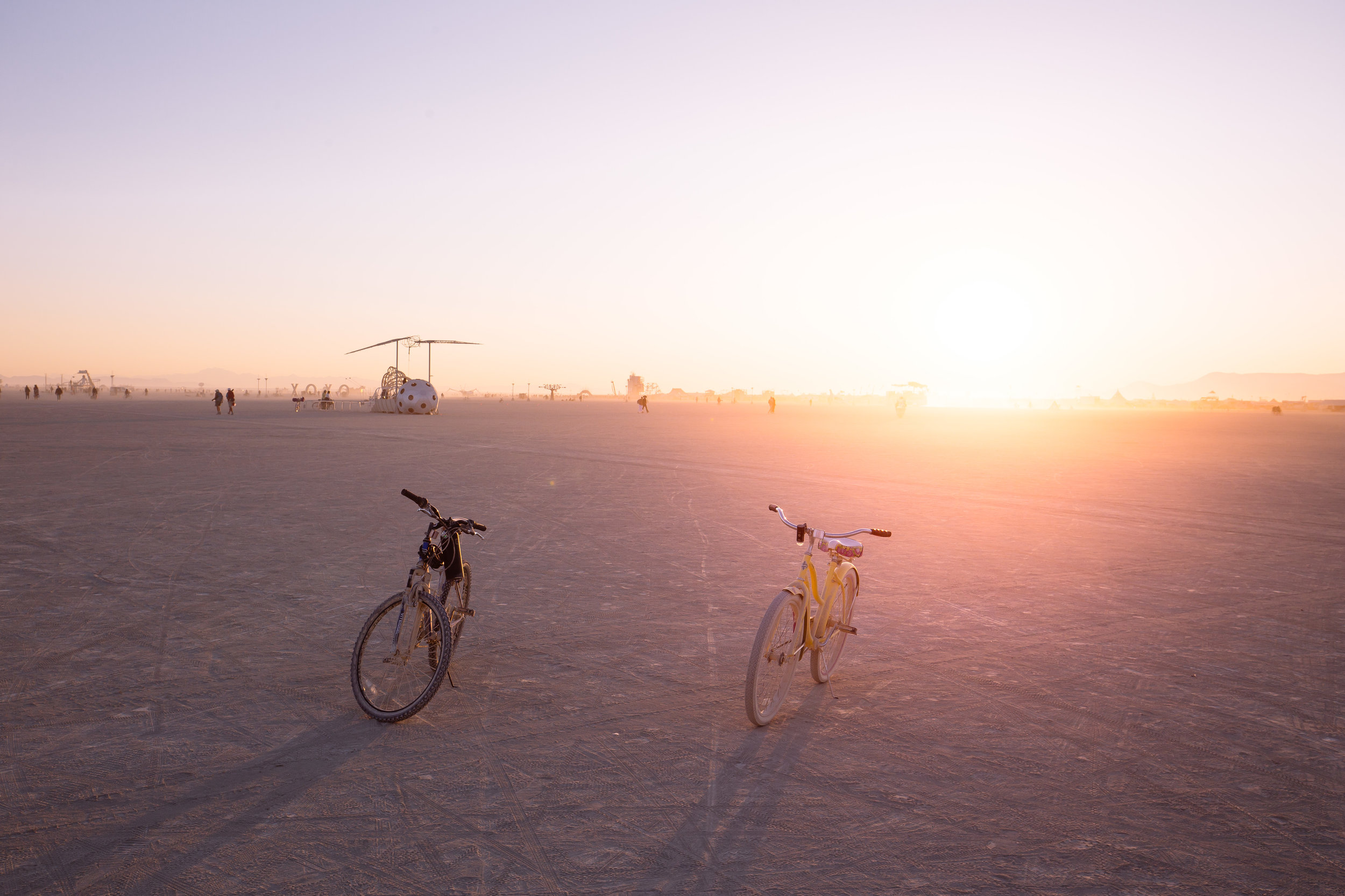burning man playa desert black rock city san francisco los angeles burner sunrise new dawn techno house djs music community communal bike bicycle new age oneness elevated spirituality existential awareness human experience lsd trip acid mandalas journey in dust we trust