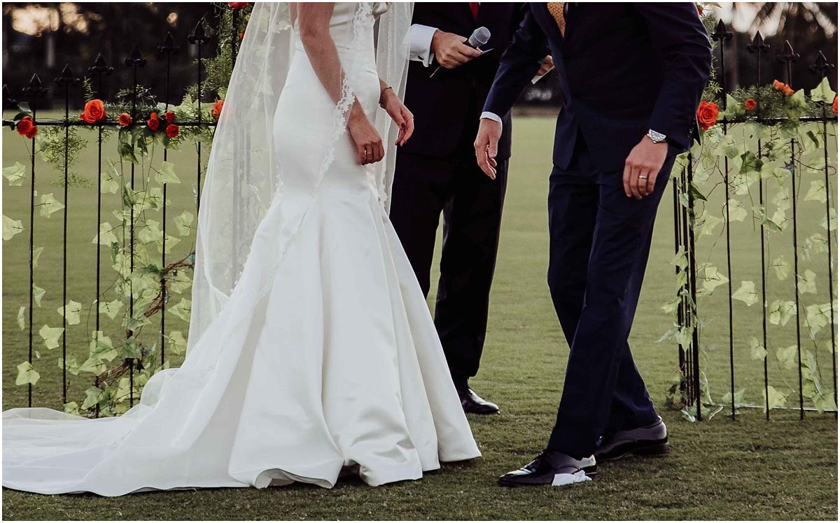 International Polo Club Breaking Glass Bride Groom