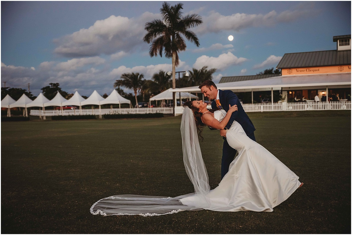 International Polo Club Palm Beach Bride Groom Photography
