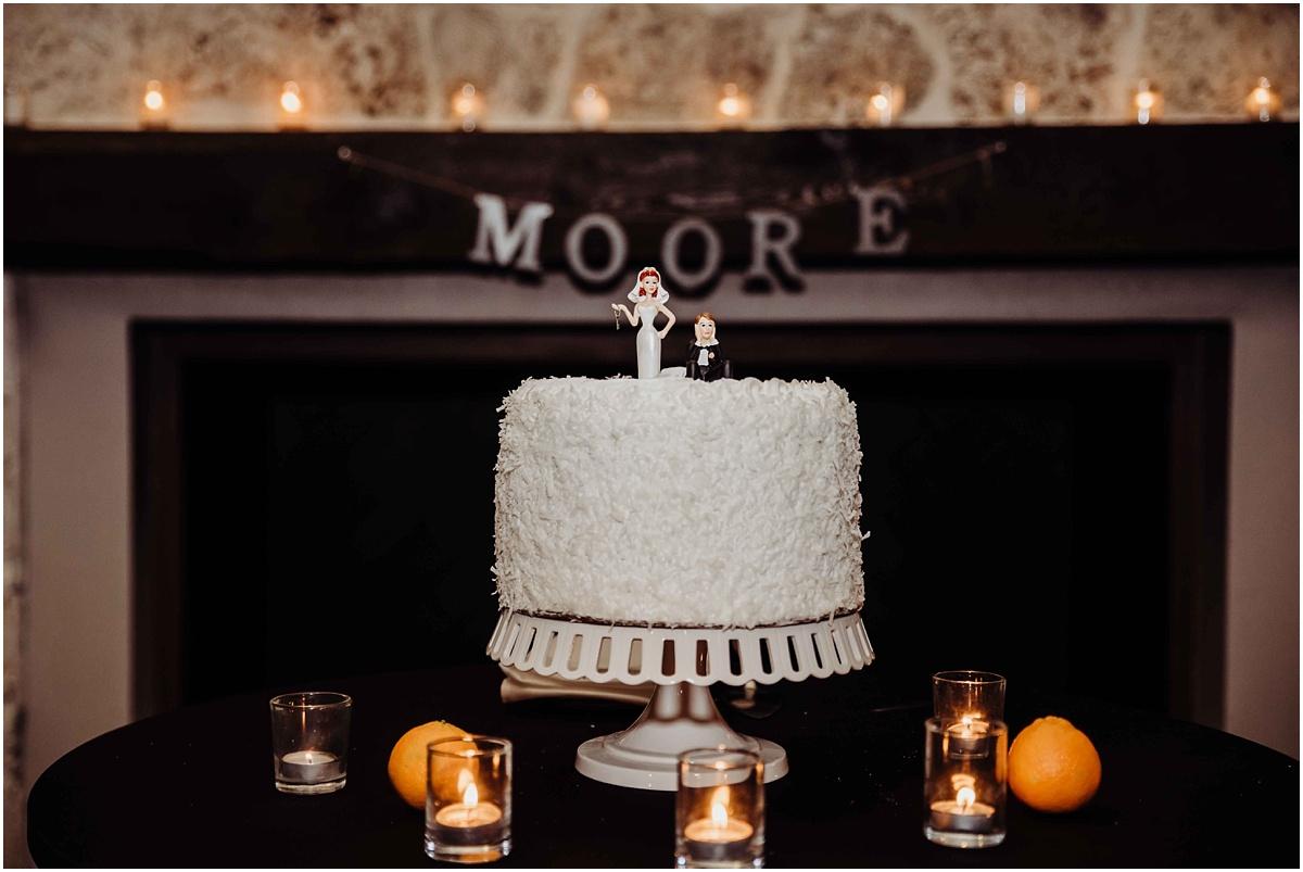 international polo club reception cake wedding photography