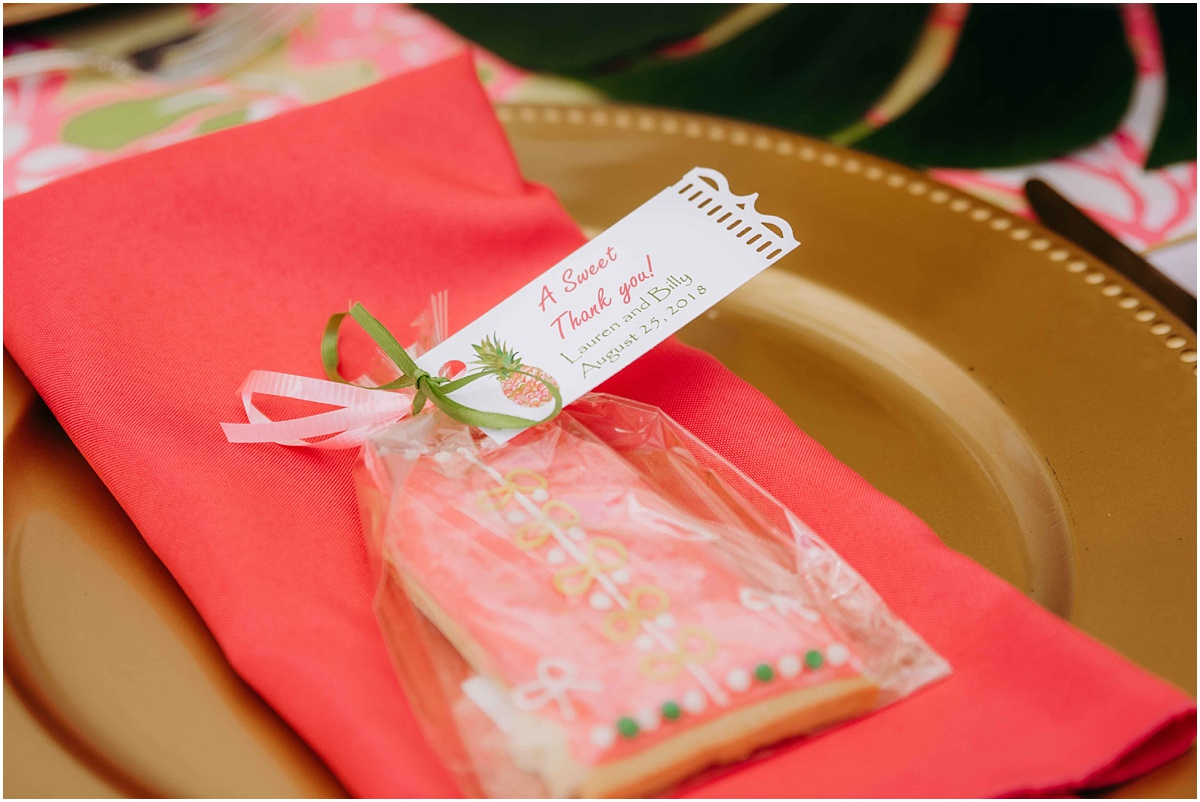 Lilly Pulitzer Palm Beach Bakery Dress Cookies