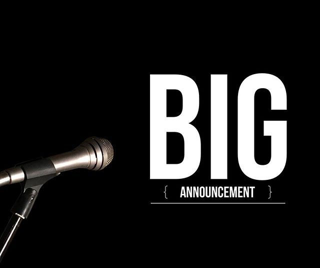We'll be sharing some exciting news with y'all in just over an hour right here! Stay tuned!! - - #news #announcement