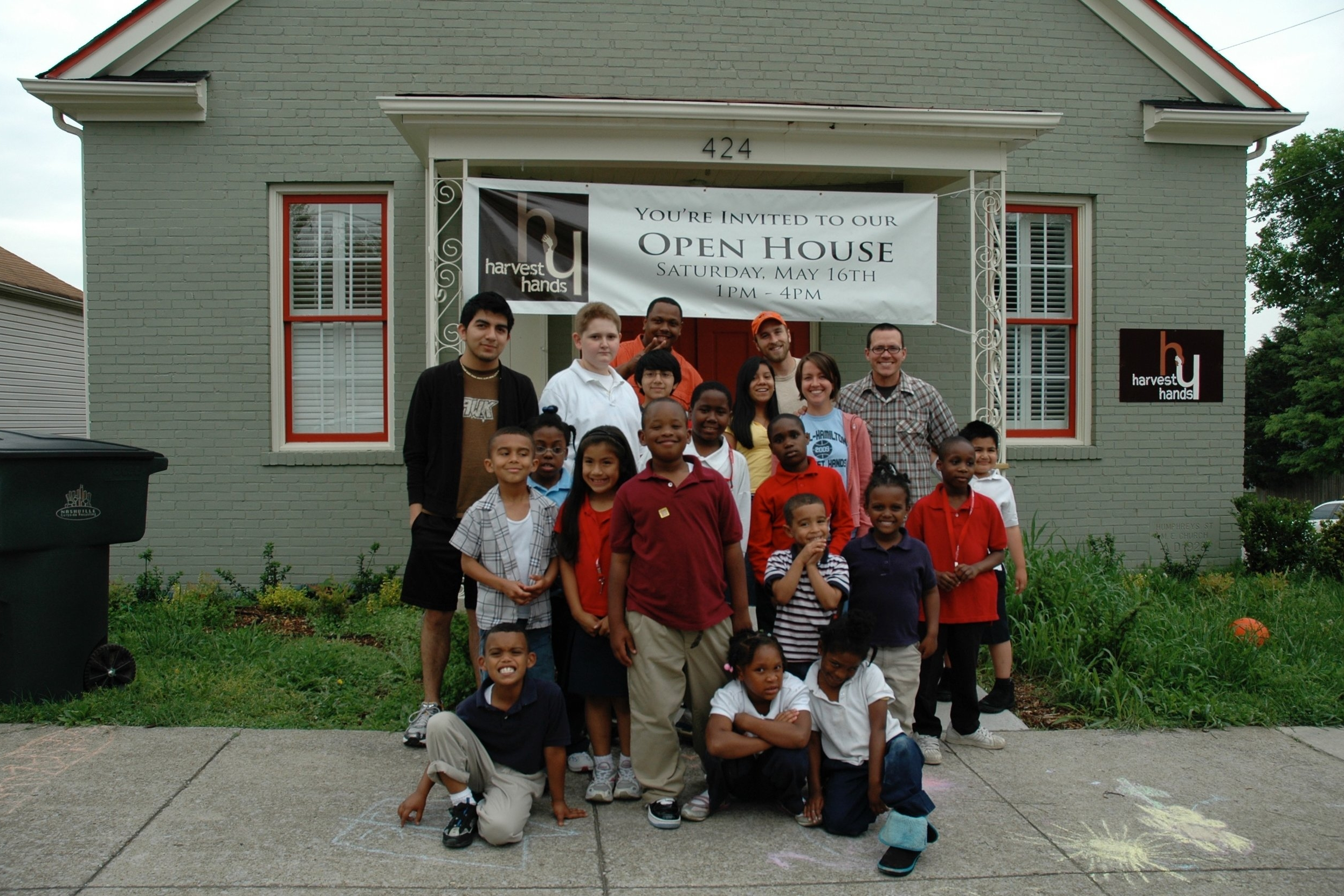 2009  | Renovated the Humphreys Street United Methodist Church to run programming after outgrowing the first Harvest House.