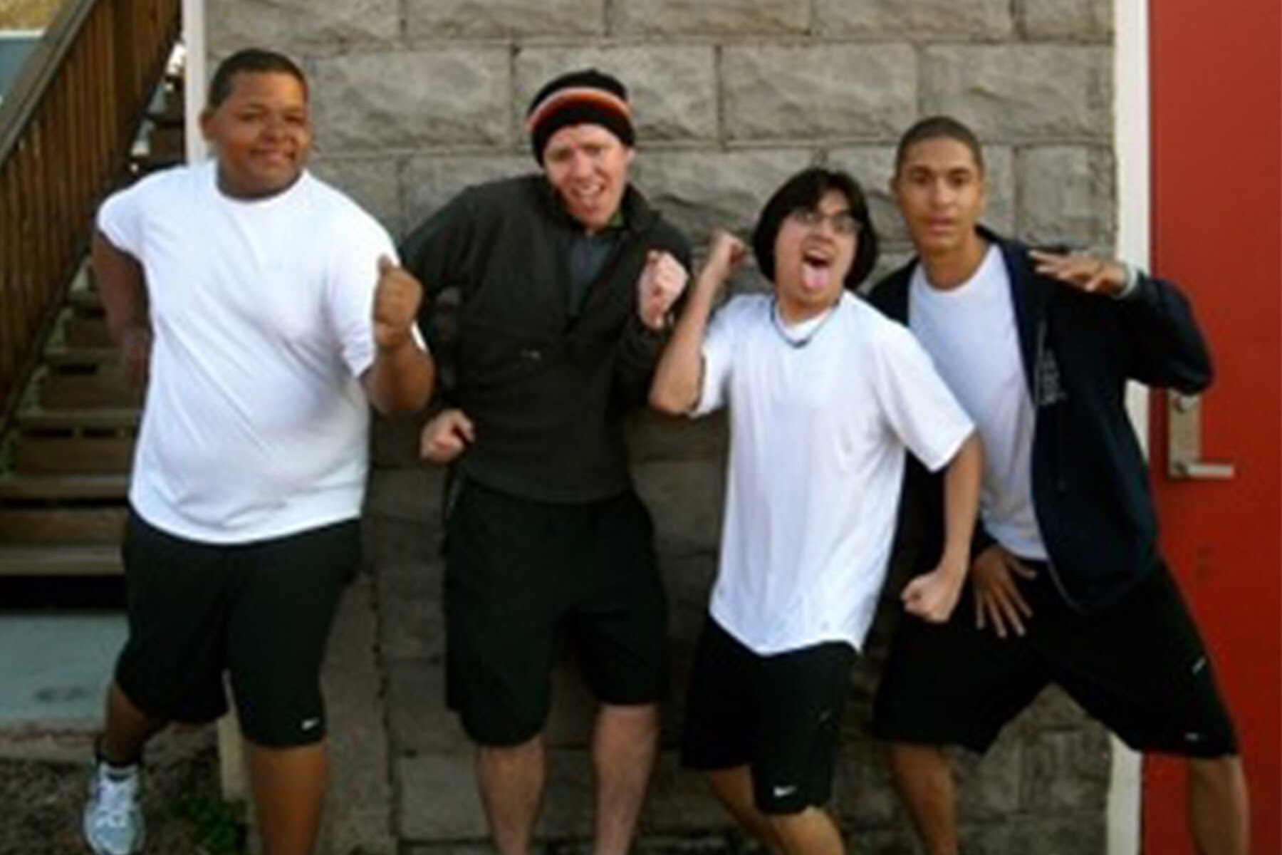2008  | Our first running club, the beginning of our healthy living program.