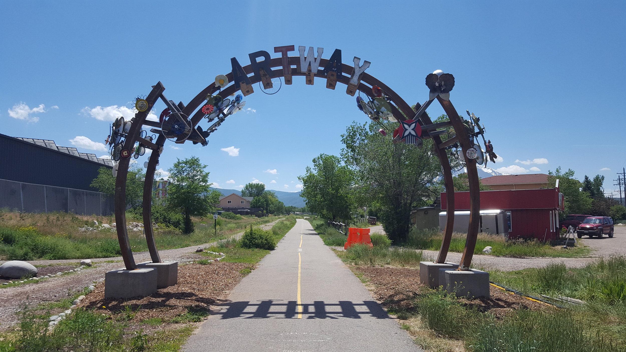 - ARTchway at DeRail Park