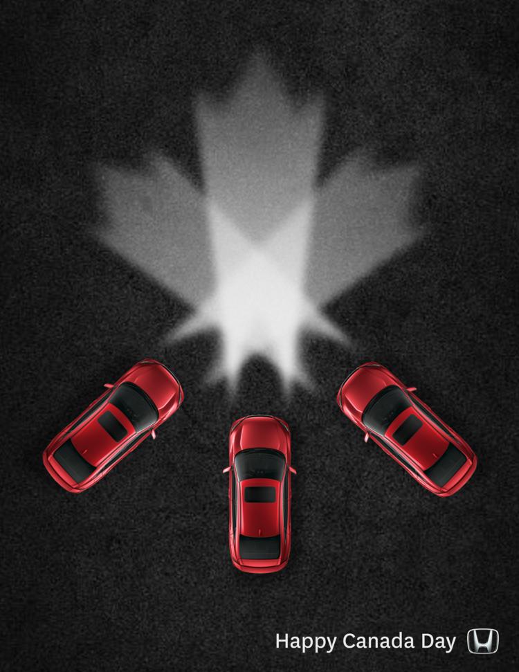 Honda Canada Social Posts