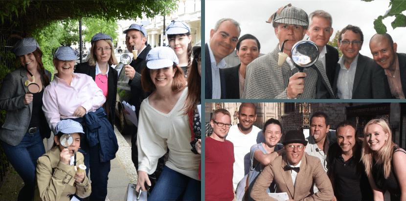 Sherlock Adventure treasure hunt photos