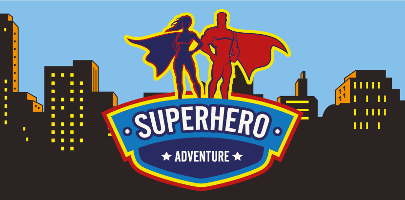 Don your cape and tAKE TO THE STREETS to SAVE THE WORLD!