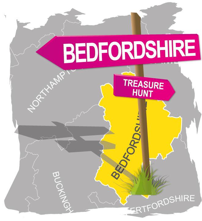 treasure hunt bedfordshire