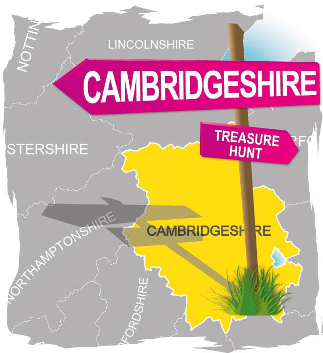 treasure hunt cambridgeshire