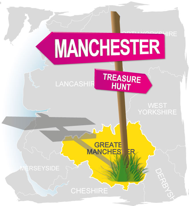 treasure hunt manchester
