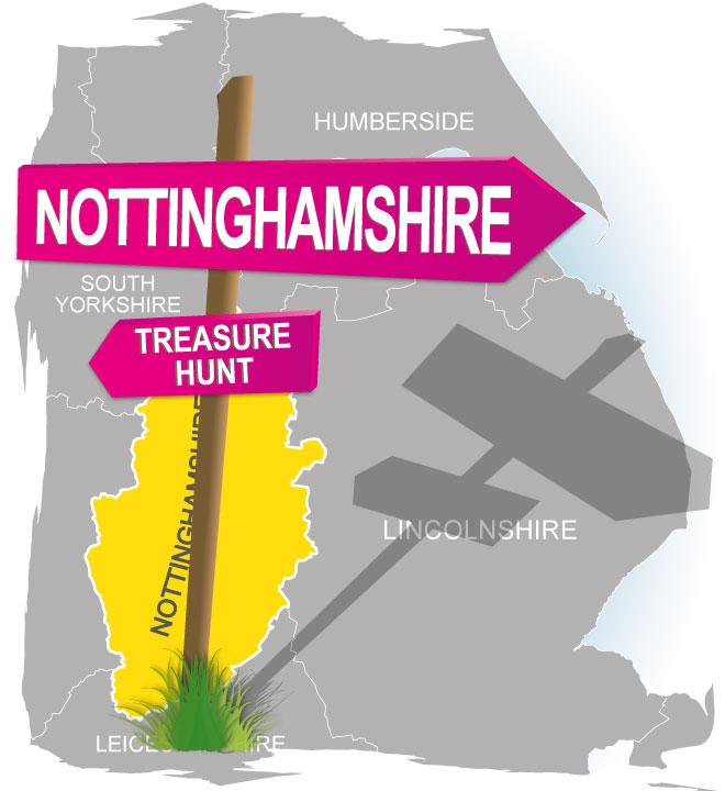 treasure hunt Nottinghamshire