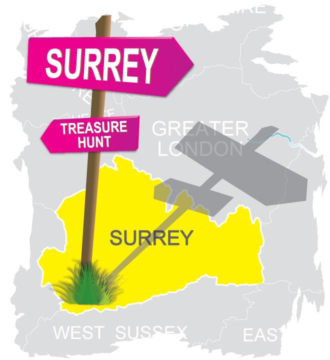 treasure hunt Surrey