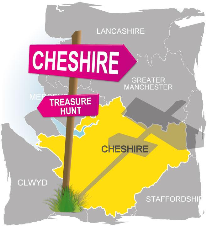 treasure hunt cheshire