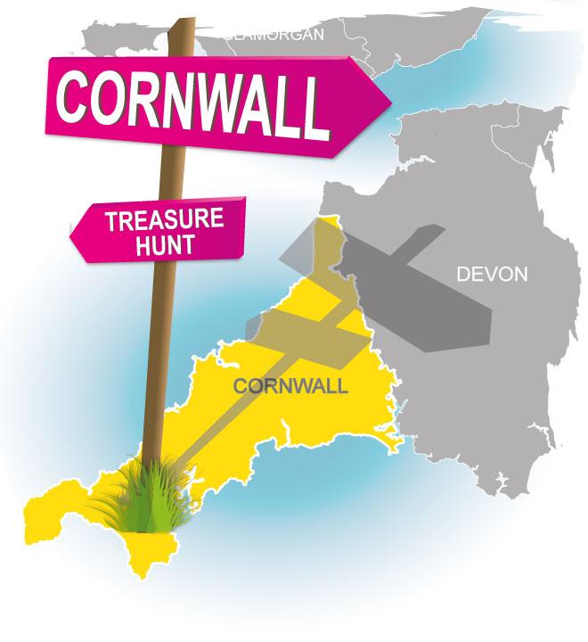 treasure hunt cornwall