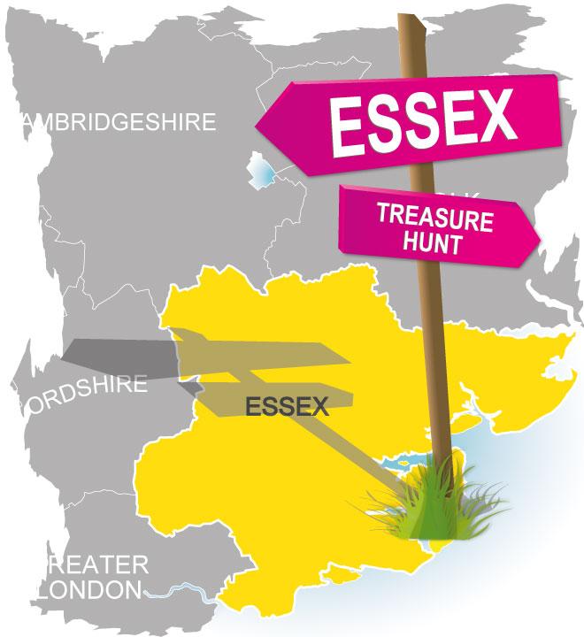 treasure hunt essex