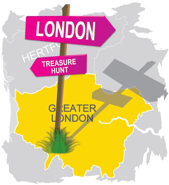treasure hunt greater london